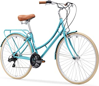 sixthreezero Ride in The Park Women`s Touring City Road Bicycle with Rear Rack