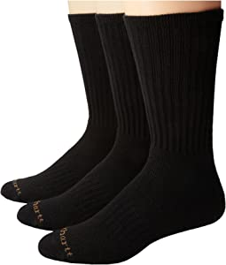 Work Wear Cushioned Crew Socks 3-Pack