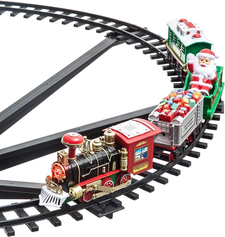 Mediawave store - treno natalizio per centro albero di natale Mediawave Store