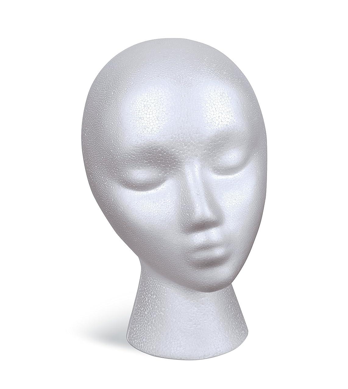FloraCraft SmoothFoam Female Head 5.8 Inch x 7.5 Inch x 9.8 Inch White xtuqdhdmovoxr227