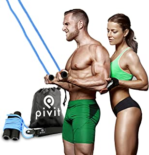 pivit Shoulder Pulley   Over-The-Door Exerciser for Rotator Cuff Rehabilitation   Arm Exercise System for Frozen Shoulder   Physical Therapy, Increase Flexibility & Range of Motion
