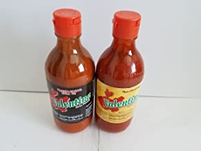 Valentina hot & extra hot sauce , black & yellow label 12,5 oz (pack of 2)