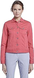 TOM TAILOR Women's Color Denim Jacket