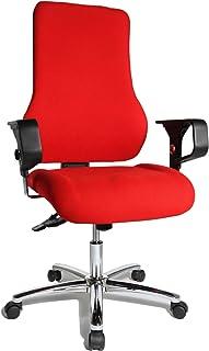 TOPSTAR TO29XG21 Top Point SY Deluxe - Silla de Escritorio de Oficina, Color Rojo