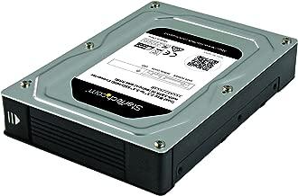 StarTech.com Dual-Bay 2.5in to 3.5in SATA Hard Drive Adapter Enclosure with RAID - Supports SATA III & RAID 0, 1, Spanning, JBOD Aluminum (35SAT225S3R)