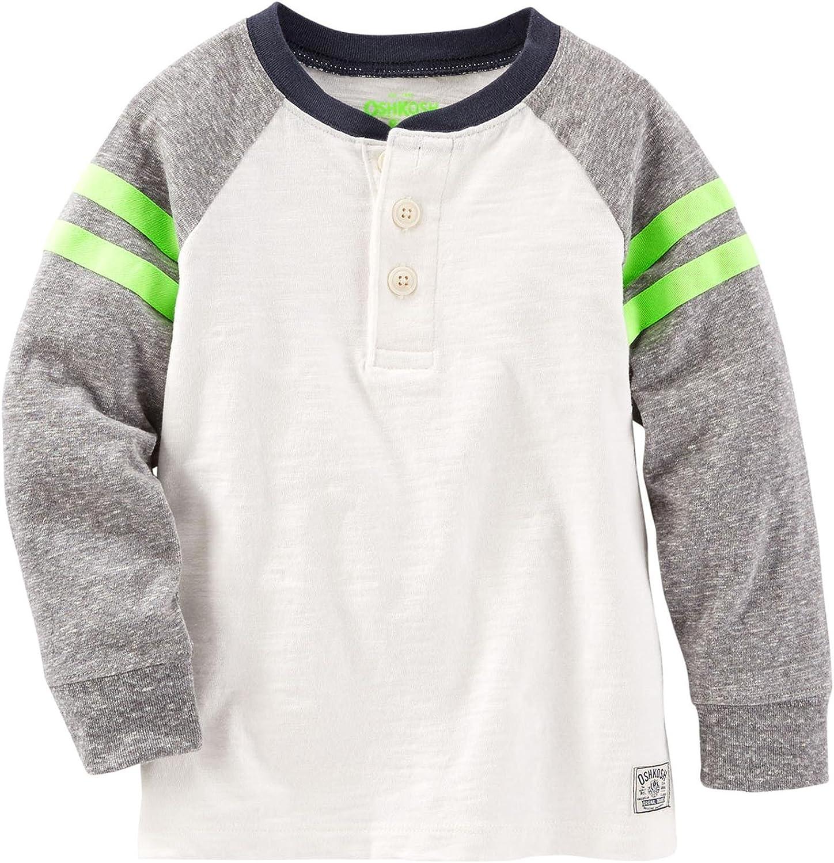 OshKosh B'Gosh Boys' Knit Polo Henley 31464610