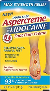 aspercreme with lidocaine for neuropathy
