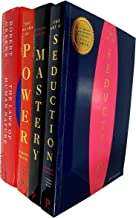 Robert Greene Collection 4 Books Set (The Art of Seduction, Mastery, The Concise 48 Laws of Power, The Laws of Human Nature [Hardcover])