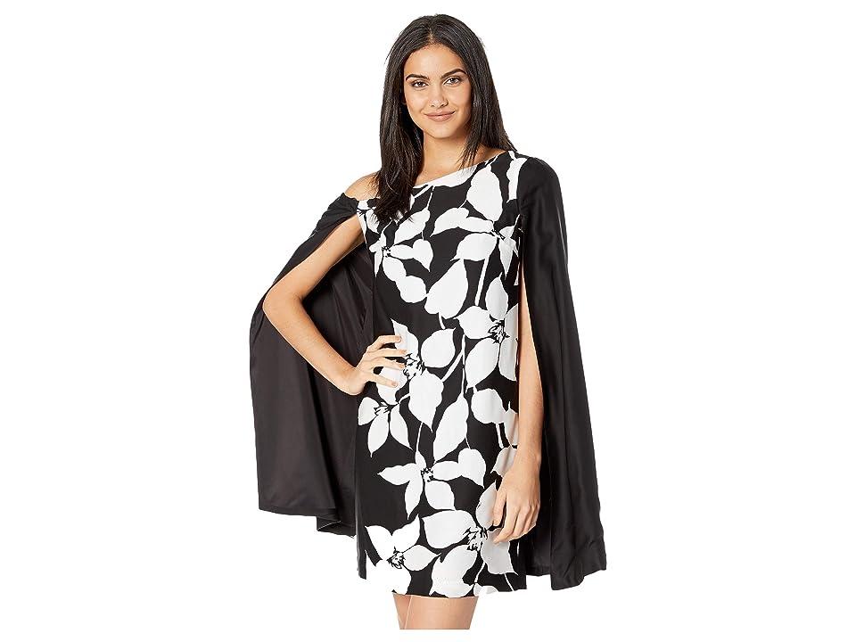 Trina Turk Classic Dress (Black/Ivory) Women