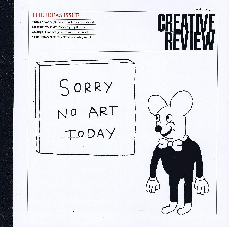 規模記録請求書Creative Review [UK] June - July 2019 (単号)