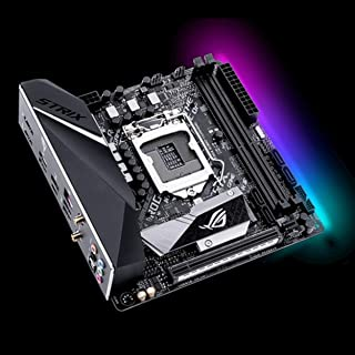 ASUS ROG LGA1151 (300 Series) DDR4 DP HDMI M.2 Mini-ITX Motherboard (Strix B360-I Gaming)