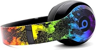 Beats by Dre Studio 3 Wireless Headphones - Custom Painted Dr. Dre Bluetooth - (Rainbow Hex)
