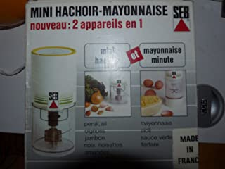 Mini Hachoir Mayonnaise minute