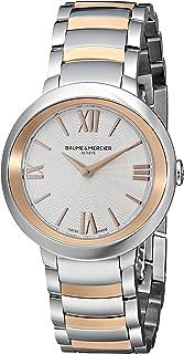 Baume & Mercier Women's BMMOA10159 Promesse Analog Display Quartz Two Tone Watch