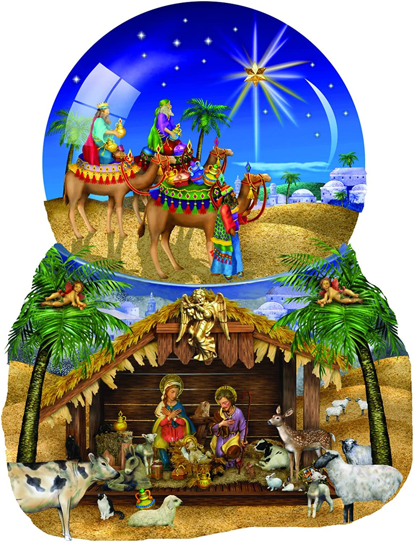 Sunsoutsunsout O Star Of Bethlehem Jigsaw Puzzle