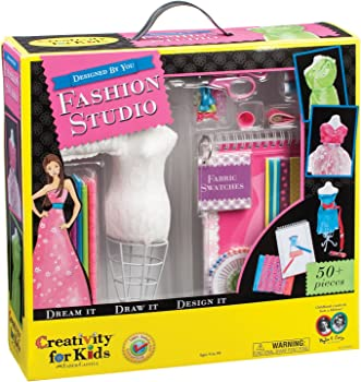 Creativity for Kids Designed by You Fashion Studio Design Kit For Kids