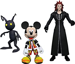 Kingdom Hearts APR178612 Select Series 1 Mickey/Axel and Shadow Action Figure, Multi-Colored