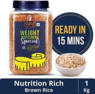 India Gate Brown Rice, 1kg Jar