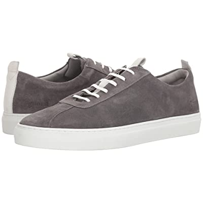 Grenson Suede Sneaker (Grey) Men