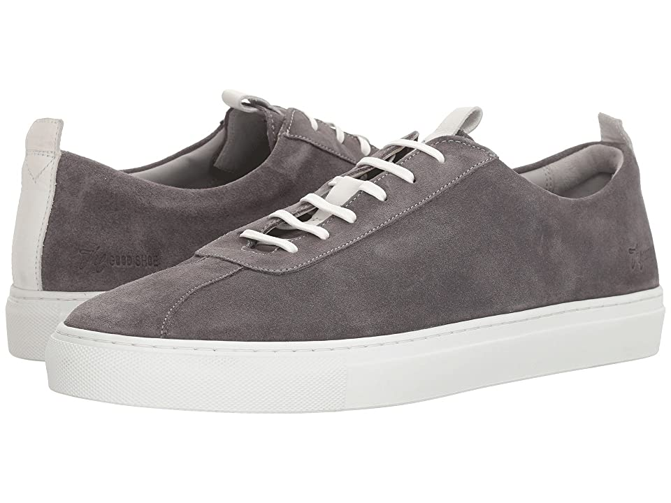 Grenson Suede Sneaker (Grey) Men