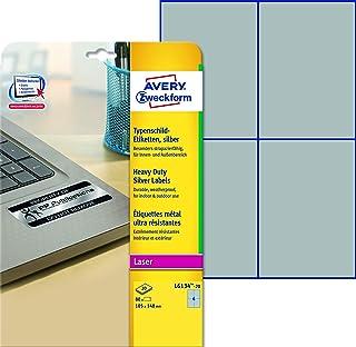 Avery Italia L6134-20 Etichette in Poliestere, 105 x 148 mm