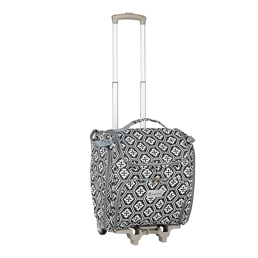Handy Sandy Crafter's Craft Tote Bag, Rolling Scrap Book Bag