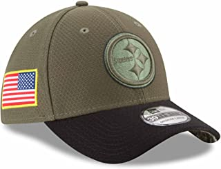 New Era Pittsburgh Steelers NFL 39THIRTY 2017 Sideline Salute to Service Hat