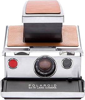 Polaroid Originals 4695 SX-70 Camera, Silver, Brown