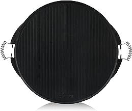 BBQ-Toro Plaque de Cuisson en Fonte avec poignées   Ø 53 cm   Plaque réversible émaillée   Accessoire pour Barbecue à gaz...