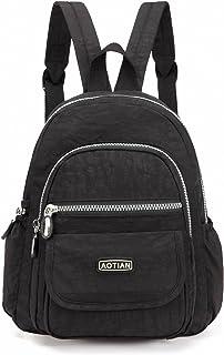 AOTIAN Mini Nylon Women Backpacks Casual Lightweight Small Daypack for Girls