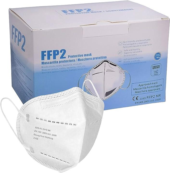 Mascherine ffp2 certificate ce alta efficienza di filtraggio bfe 95% (80 pezzi) by eliox B08VVKG4D8