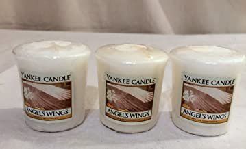 Yankee Candle Lot of 3 Angels Wings Votive Candles 1.75 oz