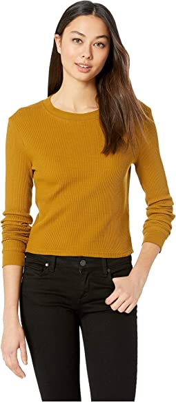 Terminal Cropped Thermal Top