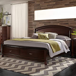 Liberty Furniture INDUSTRIES 505-BR-QPBS Avalon Queen Panel Storage Bed