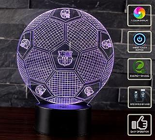 3D Lámpara de Escritorio Mesa NHSUNRAY 7 cambiar el color