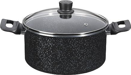 Tefal Cuisinez Brut Stewpot 24+Lid - C2154605, Black