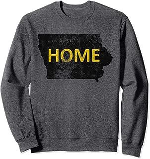 iowa home sweatshirt