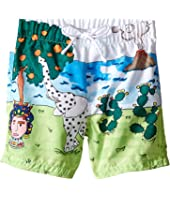 Dolce & Gabbana Kids - Elephant Swimsuit (Infant)