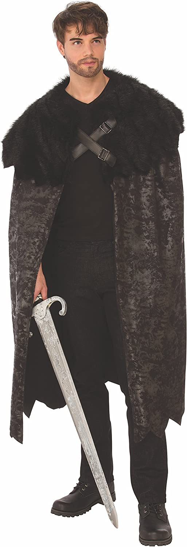Rubie's Costume Co UnisexAdult's Dark Swordsman Cape, As Shown, Standard