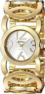 ساعة اكس او اكس او فضية للنساء بسوار من المعدن - XO5211