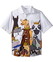 Dolce & Gabbana Kids - Short Sleeve Shirt (Big Kids)
