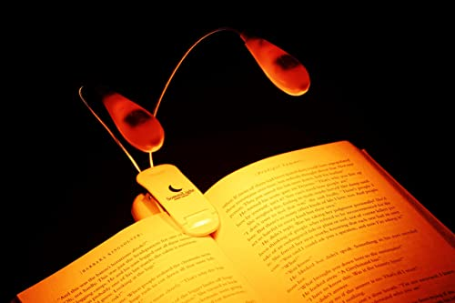 SomniLight Rechargeable Amber Book Light