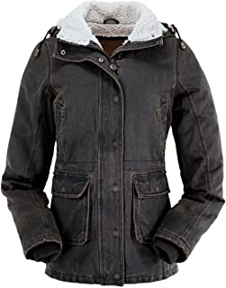 Outback Trading Co Women's Co. Woodbury Canyonland Jacket with Sherpa Hood