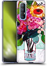 Head Case Designs Officially Licensed Mai Autumn Julys Floral Bouquet Soft Gel Case Compatible with Oppo Find X2 Neo