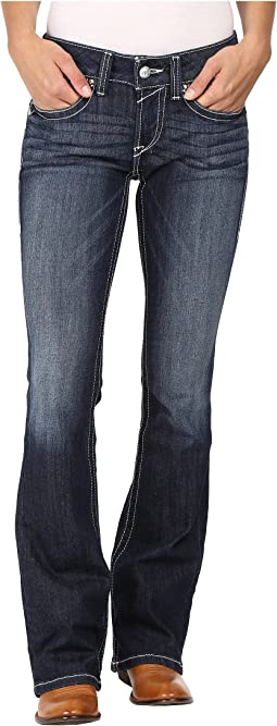 R.E.A.L. Bootcut Rosey Whipstitch Jeans in Lakeshore