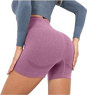 Womens Workout High Waist Yoga Shorts Leggings Athletic Running Shorts AODONG Butt Lifting Yoga Shorts for Women Sexy