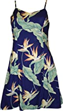 product image for Paradise Found Womens Bird of Paradsie #5 (2011) Princess Seam Mini Sundress in Royal Blue - L