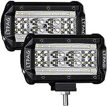 LTPAG 2pcs Focos LED Tractor, 5