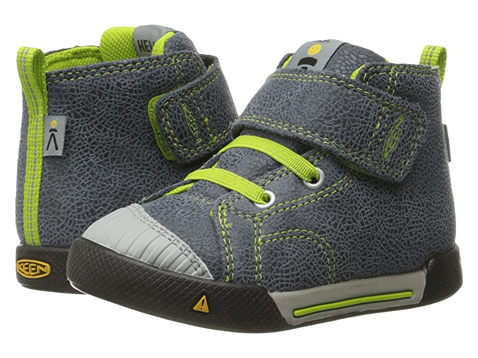Keen Kids Encanto Scout High Top (Toddler) (Black/Macaw) Boys Shoes