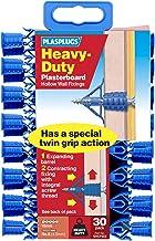 Plasplugs Heavy Duty Plasterboard Fixings, 30 Pack